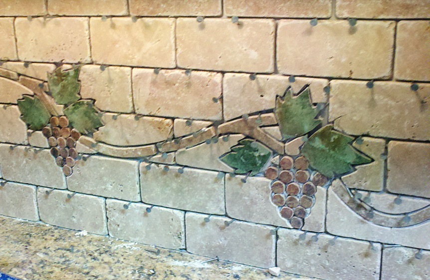 Grapevine Backsplash
